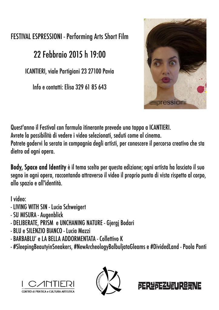 Espressioni Pavia 22 febbraio 2015
