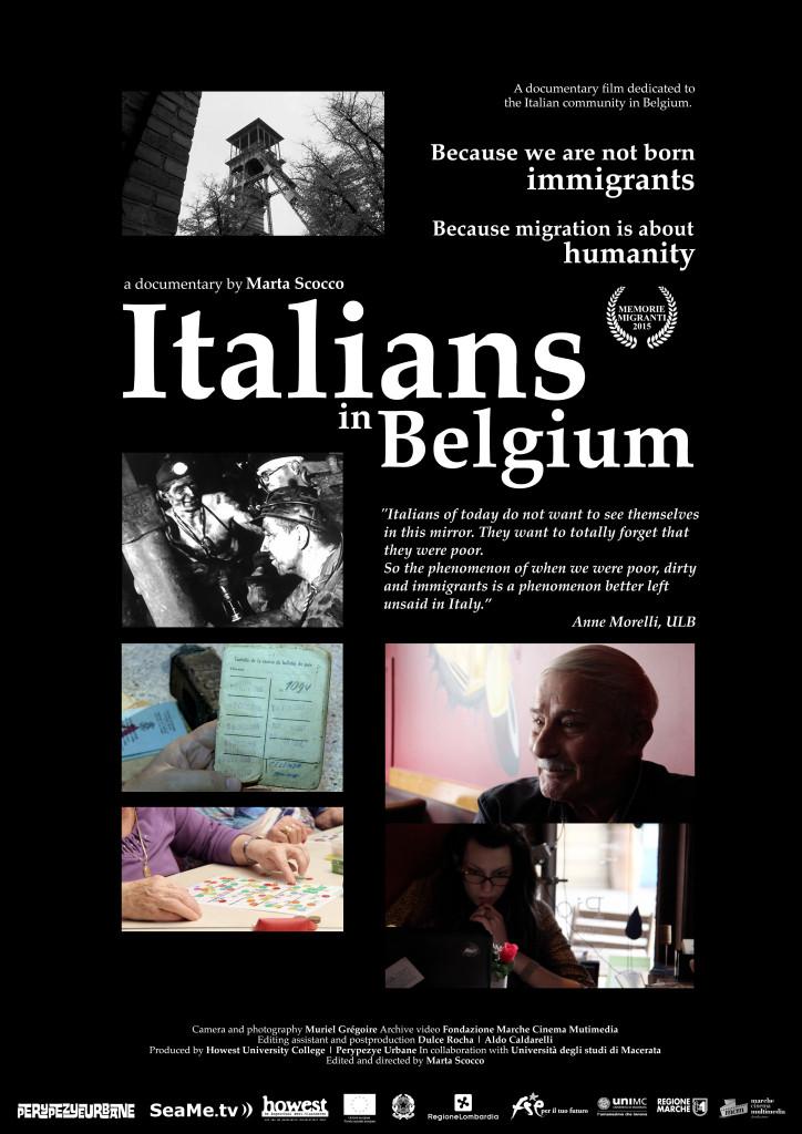 Italiani in Belgio_poster
